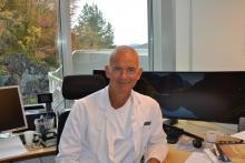 Forskingsprisvinnar Eystein Sverre Husebye, UiB/Haukeland universitetssjukehus. Foto: Irene Hjelaas, UiB